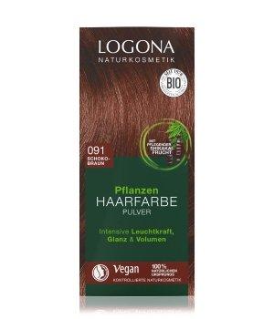 Logona Pflanzen Pulver Schokobraun  Haarfarbe für Damen und Herren