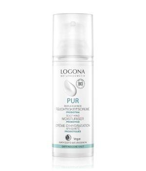 Logona PUR Beruhigende Feuchtigkeitscreme mit Probiotika Gesichtscreme für Damen