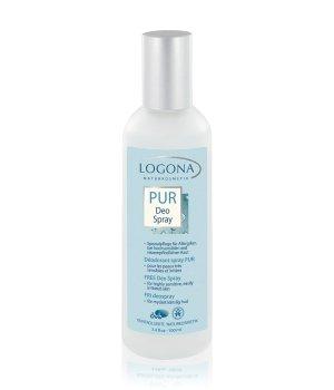 Logona PUR  Deodorant Spray für Damen und Herren
