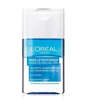 L'Oréal Paris Make-Up-Entferner Express für Augen und Lippen Augenmake-up Entferner für Damen