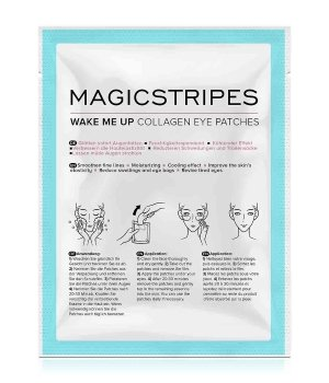 Magicstripes Wake Me Up Collagen Eye Patches Au...