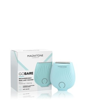 Magnitone London GoBare Blue Rasierer für Damen