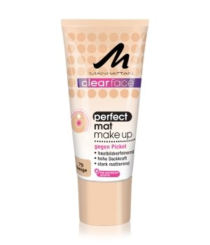 Manhattan Clearface Perfect Mat Flüssige Foundation für Damen