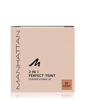 Manhattan Perfect Teint Powder & Make up  Kompakt Foundation für Damen