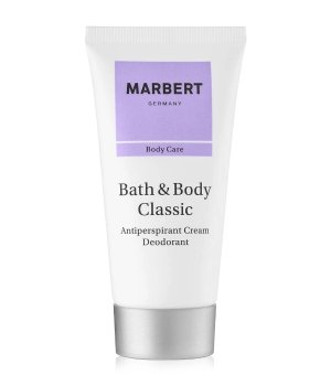 Marbert Bath & Body Classic Antiperspirant Deodorant Creme für Damen
