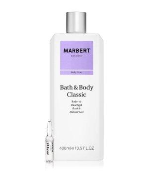 Marbert Bath & Body Classic Duschgel & Anti-Aging Ampulle Körperpflegeset für Damen