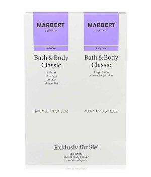 Marbert Bath & Body Classic Duschgel & Bodylotion Körperpflegeset für Damen