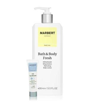 Marbert Bath & Body Fresh Bodylotion & 24h Aquabooster Körperpflegeset für Damen