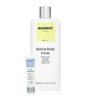 Marbert Bath & Body Fresh Duschgel & 24h Aquabooster Körperpflegeset für Damen