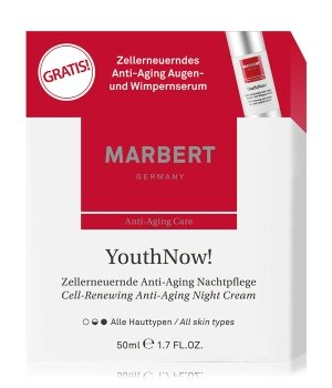Marbert YouthNow! Anti-Aging Nacht Gesichtspflegeset für Damen