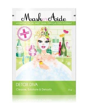 MaskerAide Detox Diva Sheet Tuchmaske für Damen