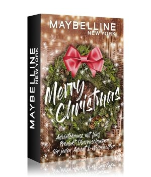 Maybelline Adventskranz Mini Adventskalender 2020