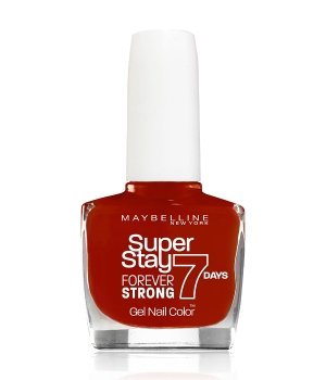 Maybelline Super Stay Forever Strong 7 Days Nagellack 10 ml Nr. 6 - Deep Red