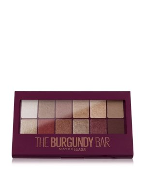 Maybelline The Burgundy Bar  Lidschatten Palette für Damen