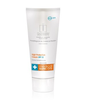 MBR Medical Sun care High Protection Cream SPF 50 Sonnencreme für Damen und Herren