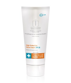MBR Medical Sun care High Protection Face Cream SPF 30 Sonnencreme für Damen