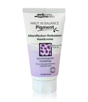 medipharma cosmetics Haut in Balance Pigment Handcreme