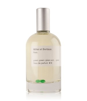 Miller et Bertaux green, green, green and green # 3 Eau de Parfum für Damen und Herren