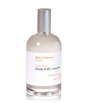 Miller et Bertaux Study # 23 newsletter Eau de Parfum für Damen und Herren