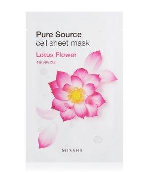 MISSHA Pure Source Cell Sheet Mask Lotus Flower Tuchmaske für Damen und Herren