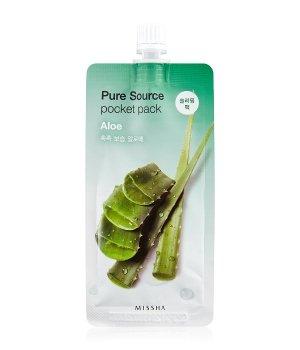 MISSHA Pure Source Pocket Pack Aloe Gesichtsmaske für Damen und Herren