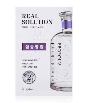 MISSHA Real Solution Tencel Sheet Mask Vitalizing Tuchmaske für Damen und Herren
