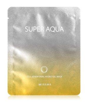 MISSHA Super Aqua Cell Renew Snail Hydro-Gel Tuchmaske für Damen und Herren