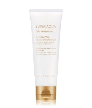 MISSHA Super Aqua Cell Renew Snail Reinigungsschaum für Damen und Herren