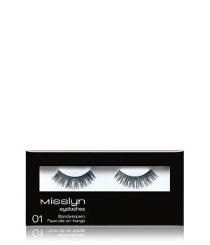 Misslyn Bandwimpern Nr. 01 Wimpern für Damen