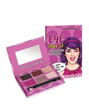 Misslyn Eye love it Eyeshadow Palette Lidschatten Palette für Damen