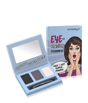 Misslyn EYE-mazing 3er Palette Lidschatten Palette für Damen