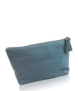 München Süd Mailand Kulturtasche Classic hellblau groß Kosmetiktasche für Damen