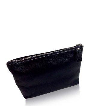 München Süd Mailand Kulturtasche Classic schwarz groß Kosmetiktasche für Damen