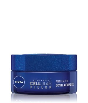 NIVEA Hyaluron Cellular Filler + Anti-Falten Schlafmaske Gesichtsmaske für Damen
