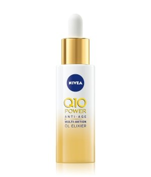 NIVEA Q10 Power Anti-Aging Multi-Aktion Öl Elixier Gesichtsserum für Damen