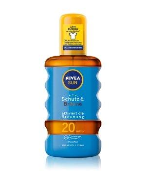 NIVEA SUN Schutz & Bräune LSF 20 Sonnenöl für Damen