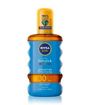 NIVEA SUN Schutz & Bräune LSF 30 Sonnenöl für Damen