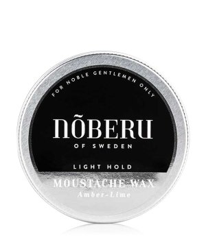 Nõberu of Sweden Amber-Lime Light Hold - Moustache Bartwachs für Herren