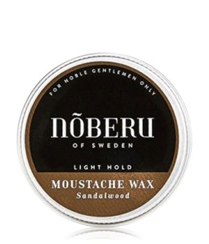 Nõberu of Sweden Sandalwood Light Hold - Moustache Bartwachs für Herren