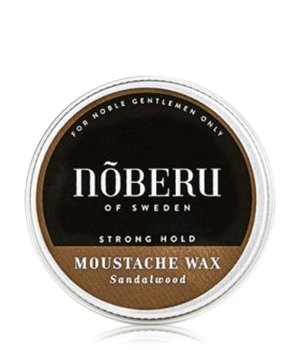 Nõberu of Sweden Sandalwood Strong Hold - Moustache Bartwachs für Herren