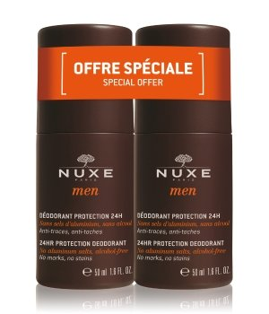 NUXE Men Protection 24 H Deodorant Roll-On 2x