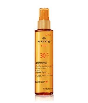NUXE Sun Huile Visage et Corps LSF 30 Sonnenöl für Damen