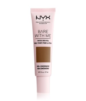 NYX Professional Makeup Bare With Me Tinted Skin Veil Flüssige Foundation 27 ml Nr. 09 - Deep Sable