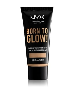 NYX Professional Makeup Born to Glow! Naturally Radiant Foundation Flüssige Foundation 30 ml Nr. 14