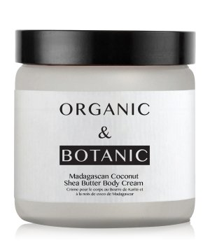 Organic & Botanic Madagascan Coconut Shea Butter Körpercreme für Damen und Herren