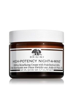 Origins High-Potency Night-A-Mins Oil Free Resurfacing Cream With Fruit Derived Ahas Nachtcreme für Damen und Herren