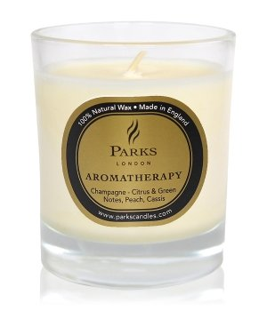 Parks London Aromatherapy Champagne Duftkerze für Damen und Herren