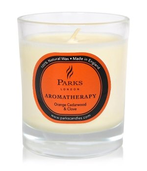Parks London Aromatherapy Orange, Cedarwood & Clove Duftkerze für Damen und Herren