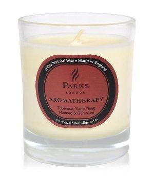 Parks London Aromatherapy Tuberose, Ylang Ylang & Geranium Duftkerze für Damen und Herren
