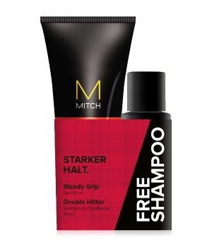 Paul Mitchell Mitch Steady Grip + Free Shampoo Stylingcreme für Herren